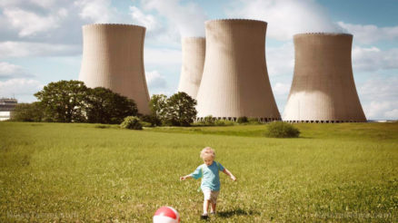 Small-Child-Play-Park-Kick-Ball-Nuclear-Power-Plant-Radiation